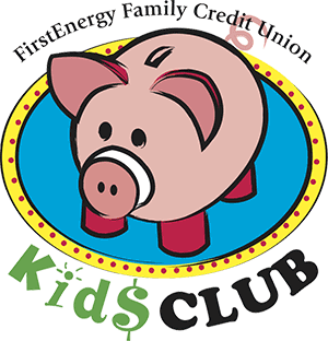 Kids Club Piggy Bank Logo
